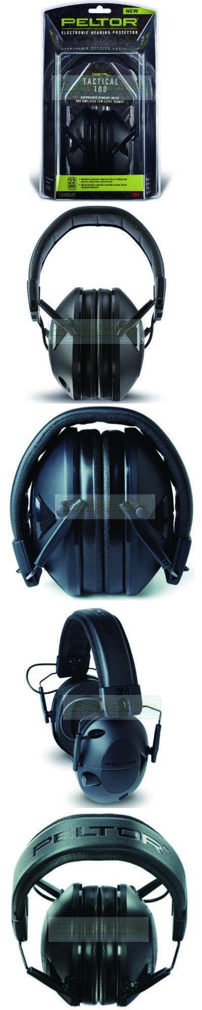 [104美國直購] 防音耳罩 3M TAC100-OTH Peltor Sport Tactical 100 Electronic Hearing Protector $3498