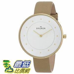 [104美國直購] Skagen 女士手錶 Women's SKW2137 Gitte Quartz 2 Hand Stainless Steel Light Brown Watch $3391