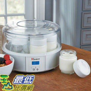 104 euro cuisine automatic digital yogurt maker for Automatic yogurt maker by euro cuisine
