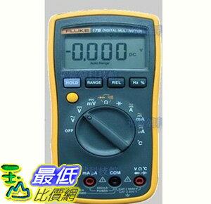 (公司貨) 美國福祿克 FLUKE F17B+ /EM 數位萬用表 三用電表 維修 測試 研究