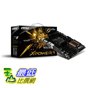 [美國直購 ShopUSA] MSI 主機板 LGA2011 Intel X79 DDR3 USB3.0 A2GbE XL-ATX BANG-XPOWER II $14900