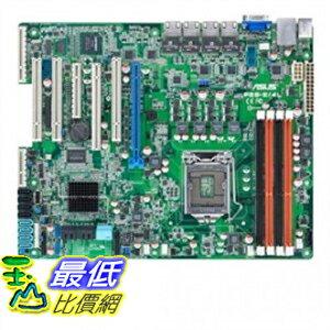 [美國直購 ShopUSA] Asus 主機板 Socket 1155 Intel C204 DDR3 V 4GbE ATX Server Intel - LGA 1155 $10000