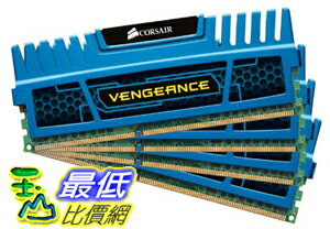 [美國直購 ShopUSA] Corsair 內存 Vengeance Blue 16 GB DDR3 SDRAM Dual Channel Memory Kit CMZ16GX3M4A1600C9B..