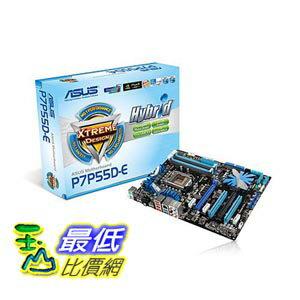 [103美國直購] ASUS P7P55D-E - LGA 1156 - Intel P55 - DDR3 - USB 3.0 SATA 6 Gb/s - ATX Motherboard 華碩ATX主機板 $15990