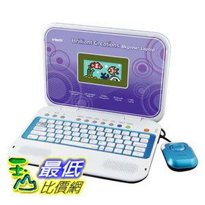 [103美國直購] VTech - Brilliant Creations Beginner Laptop兒童教育軟體 童版手提電腦 初學版