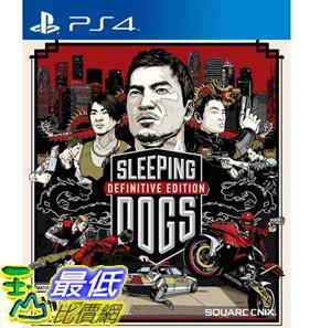 (4948872832090) PS4 睡犬 決定版 Sleeping Dogs 英文美版 香港秘密警察 亞版 最後一片