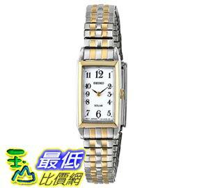 [103美國直購] Seiko Women's SUP228 Analog Display Japanese Quartz Two Tone Watch 女士手錶 $3517