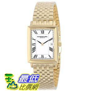 [103美國直購] Raymond Weil Women's 5956-P-00300 Tradition Analog Swiss Quartz Gold Dress Watch 女士手錶 $25021