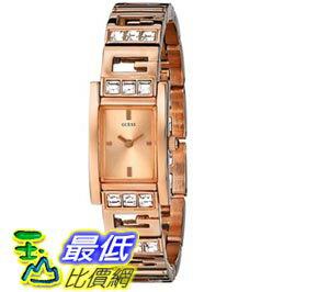 [103美國直購] GUESS Women's U0200L1 G-Iconic Sophistication Crystal Rose Gold-Tone Watch 女士手錶 $3935