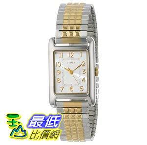 [103美國直購] Timex Women's T2P3059J Dress Mini Stainless Steel Two-Tone Watch 女士手錶