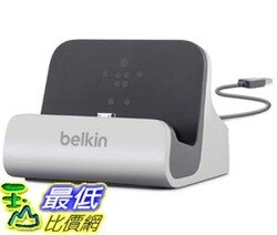 [103美國直購] Belkin 三星專用 銀色款 充電 傳輸 底座 PowerHouse Micro USB Charge and Sync Dock for Samsung Galaxy S4