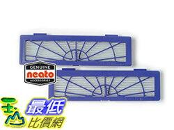 [103美國直購] Neato 原廠 濾網 945-0123 BotVac Series High-Performance Filter 2-Pack