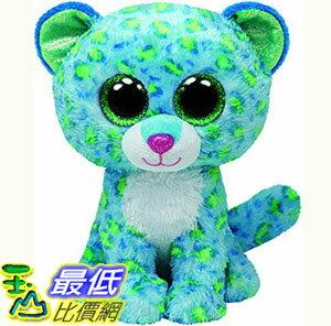 [103美國直購] Ty 毛絨玩具 Ty Beanie Boos Leona Blue Leopard Regular Plush $420