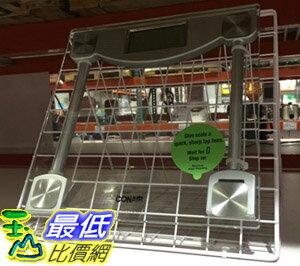 [104限時限量促銷] COSCO 進口強化玻璃數位體重計CONAIR DIGITAL GLASS SCALE (C59GDPCW) C36151 $795