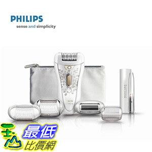 (美國直購) Philips HP6576 Satin Perfect Deluxe Epilator, White/Champagne 充插兩用美體刀 $4488
