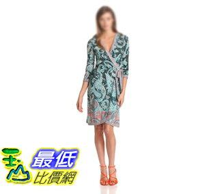 [美國直購 ShopUSA] BCBGMAXAZRIA Women's Adele Printed Wrap Dress 女士連衣裙 VBW6W726 $8220