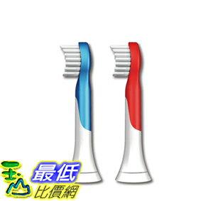 [美國直購 ShopUSA] 聲波震動牙刷 Philips Sonicare HX6032/64 Sonicare for Kids Replacement Brush Heads, Ages 4-7..