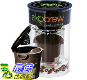 [美國直購 ShopUSA] Ekobrew Cup, 咖啡杯 Refillable K-Cup For Keurig K-Cup Brewers 852748003061 $738