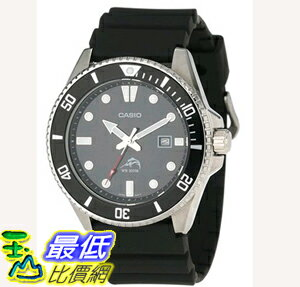 [108美國直購] 手錶 Casio Men's MDV106-1A Stainless Steel Watch