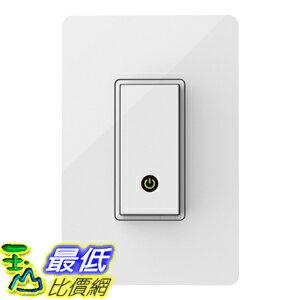 [104美國直購] 美國貝爾金 Belkin WeMo Light Switch 智慧型電燈開關 支援 iPhone / iPad / iPod / Android 4.0以上 控制開關