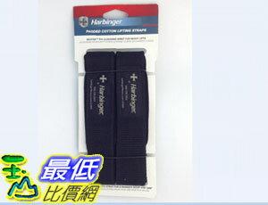 [美國直購 現貨] Harbinger 213 21 1/2-Inch Classic Cotton Padded Lifting Straps 拉力帶 助力帶 黑色 _TA2
