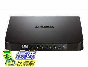 [104美國直購] 端口交換機 D-Link 16-Port Gigabit Switch (DGS-1016A) $3568