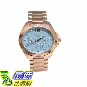 [103美國直購] 手錶 COACH 14501888 Stainless Steel Rose Gold Tone $7969