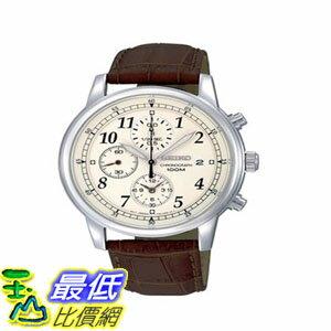103美國直購  手錶 Seiko Mens SNDC31 Classic Brown