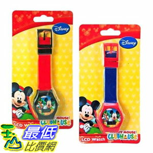 [103美國直購] 手錶 Disney Mickey Clubhouse Digital LCD Watch For Kids $414