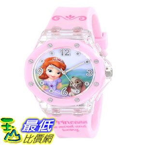 [103美國直購] 手錶 Disney Kids SOF1454 Digital Display Analog Quartz Pink Watch $619