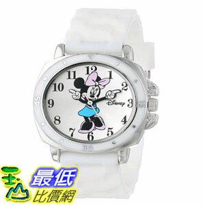 [103美國直購] 手錶 Disney Kids MN1106 Watch with White Rubber Band $619