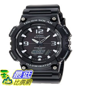 [103美國直購] 男士手錶 Casio Mens AQ-S810W-1AV Solar Sport Combination Watch