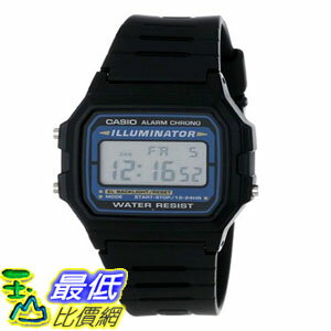 103美國直購  男士手錶 Casio Mens F105W~1A Illuminato
