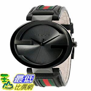 [103美國直購] 男士手錶 Gucci Mens YA133206 Interlocking Iconic Bezel Anthracite Dial Watch $46189