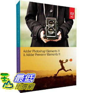 [美國直購 ] Adobe Photoshop Elements 11 & Adobe Premiere Elements 11 $5260
