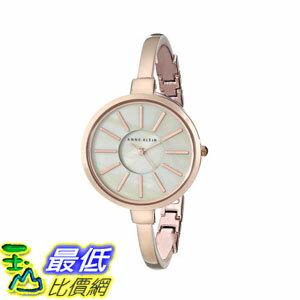 [2015 限量促銷款 美國直購] 玫瑰金音手錶 Anne Klein Women's AK/1470RGST Watch $6499