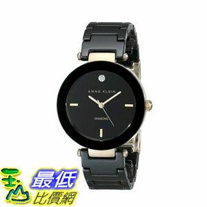 [2015 限量促銷款 美國直購] 女士手錶 Anne Klein Women's AK/1018BKBK Watch $4819