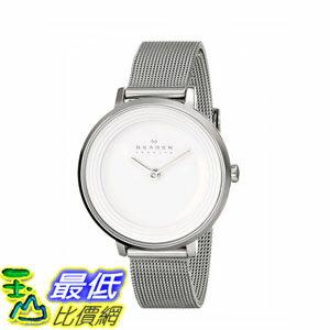 [2015 限量促銷款 美國直購] 不鏽鋼石英手錶 Skagen Women's SKW2211 Watch $5302