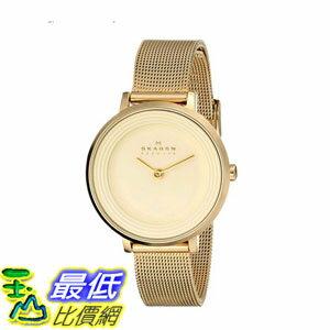 [2015 限量促銷款 美國直購] 不?鋼石英手錶 Skagen Women's SKW2212 Watch $4104
