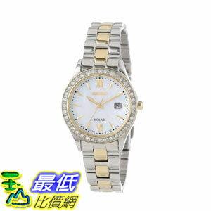 玉山最低比價網:[2015限量促銷款美國直購]不?鋼手錶SeikoWomen'sSUT074Watch$6016