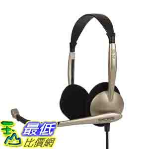 [美國直購 ] 電腦耳機 Koss CS100 Speech Recognition Computer Headset $946