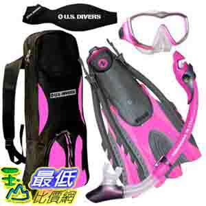 美國直購   U.S. Divers Ladies Diva Travel Snorke