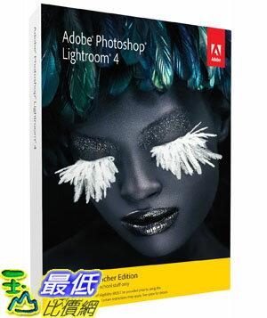 [美國直購]2012 美國暢銷軟體Adobe Photoshop Lightroom 4 Student and Teacher Edition $3098