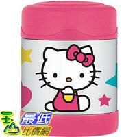 THERMOS 膳魔師保溫杯/保溫瓶/燜燒鍋推薦到[103美國直購] F3004HK6 Thermos Funtainer 10-Ounce Food Jar Hello Kitty 保溫瓶 $955