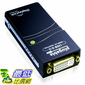 104美國直購  可插拔的USB Plugable UGA~165 USB 2.0 to