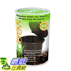 104美國直購  咖啡杯 B00K8FR2P8 Ekobrew Refillable K