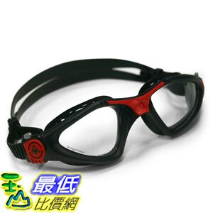 [104美國直購] black/red/clear 泳鏡 蛙鏡 Aqua Sphere 202280 KAYENNE GOGGLE