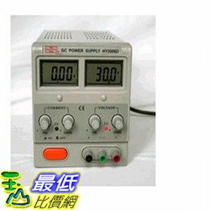 [104美國直購] 計測 直流電源 Mastech REGULATED LINEAR VARIABLE DC POWER SUPPLY 30V 6A HY3006D