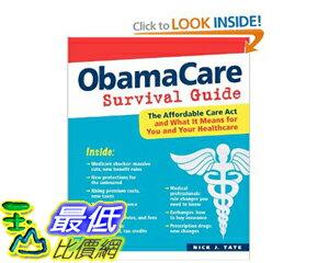 [美國直購]2012 美國秋季暢銷書排行榜ObamaCare Survival Guide $748