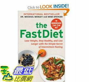 [美國直購] 2012 美國秋季暢銷書排行榜The FastDiet: Lose Weight, Stay Healthy $821